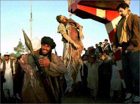 Казнь Мохаммеда Наджибулы 27 сентября 1996 года