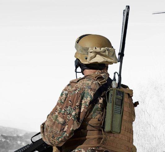 Dual-Purpose Russian Military Handheld Radio Азарт-П1