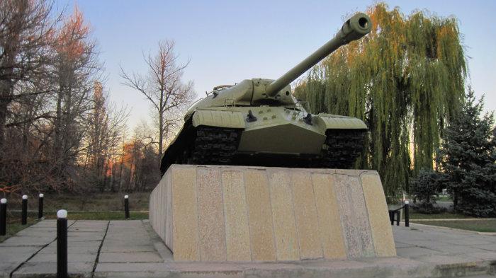 Станица Луганская ИС3