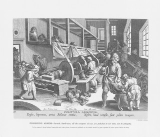Fig 4 16th C Water Powered Grinders (Stradanus)