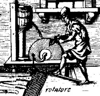 Fig 2 16th C Pedal grinder