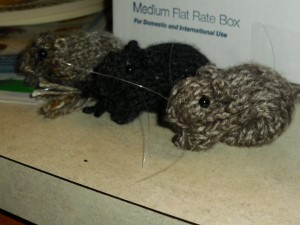 Knitted Gerbils