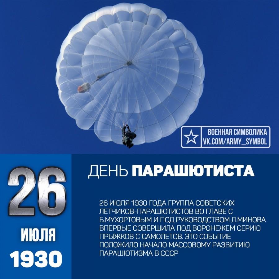 Открытки парашютисту с днем парашютиста