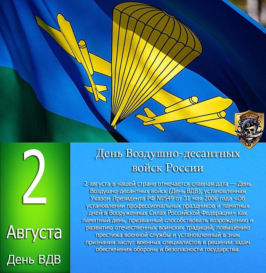 Поздравление командиру с днем вдв 71