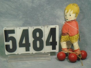 Skater Doll, photo from William H. Bunch auction catalog