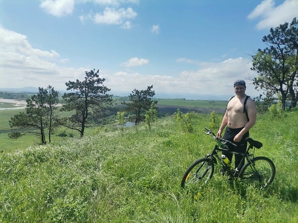 Конечная точка маршрута велопробега