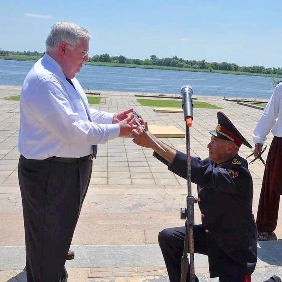 Экс-посол США и  украинский генерал