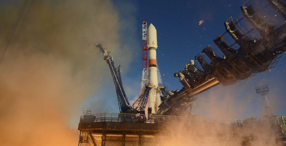 Ракета Союз 2б со спутником ГЛОНАСС в Плесецке