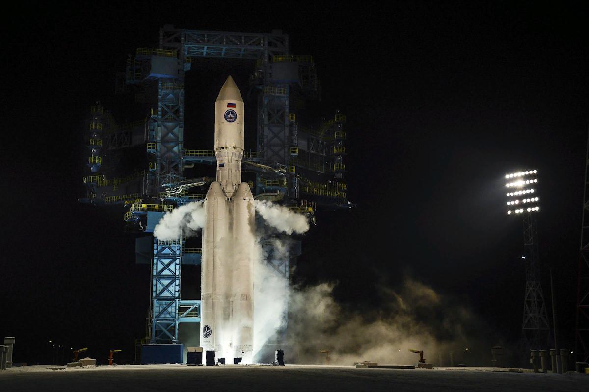 Ангара 5 на старте, фото МО РФ