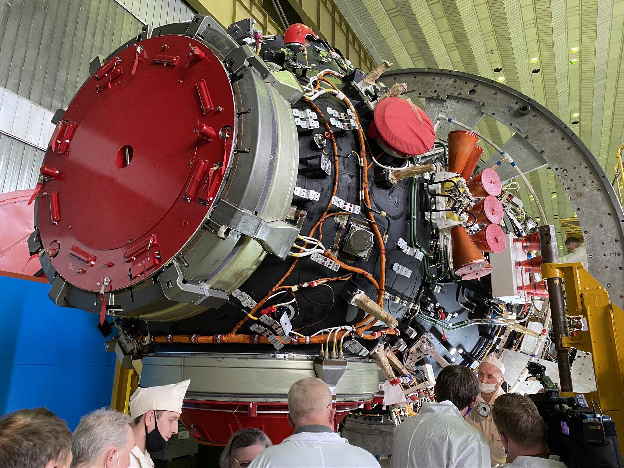 Модуль Наука — отправят на МКС летом этого года.