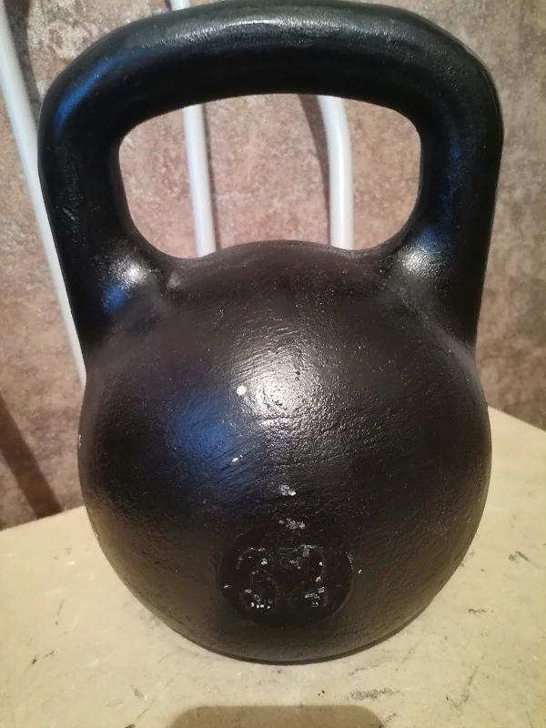 32 кг  гиря уральская