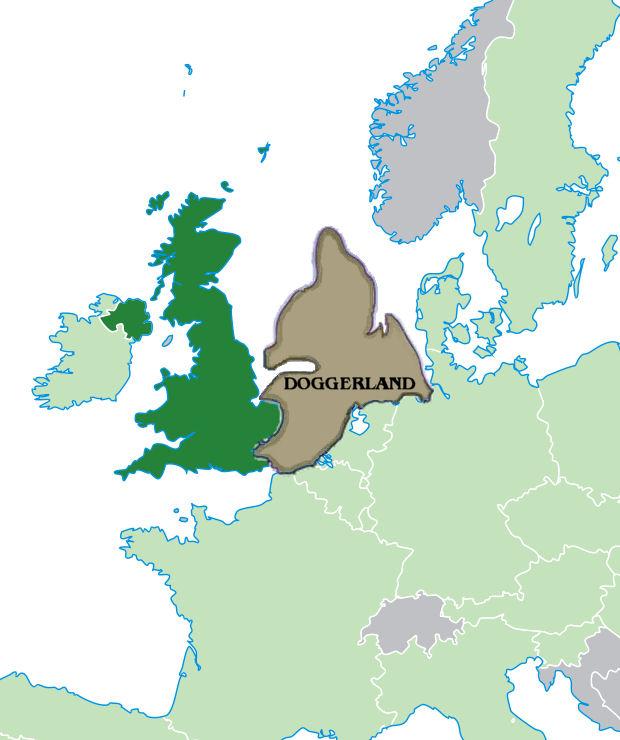 Догерланд, ушедшая под воду родина фризов.