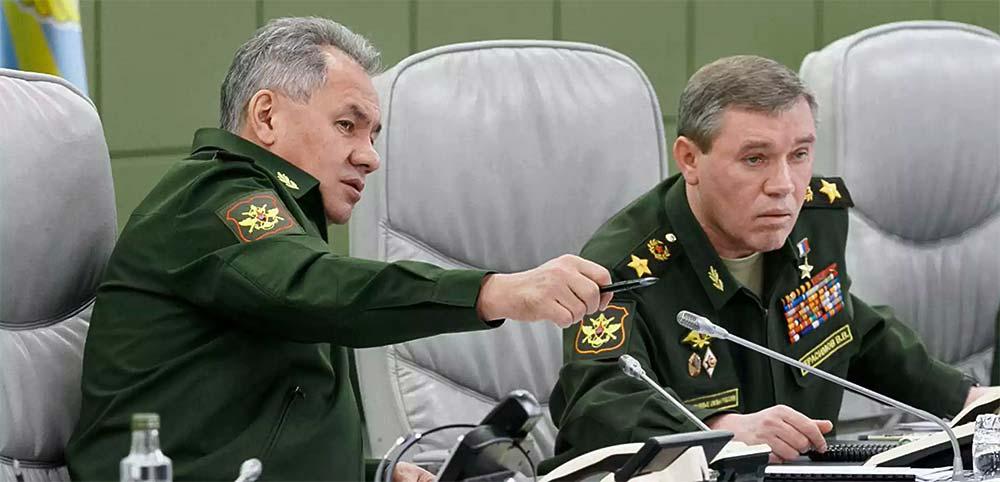 Глава Генштаба ВС РФ Герасимов жгёт напалмом