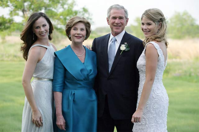 Семья Джорджа Буша-младшего