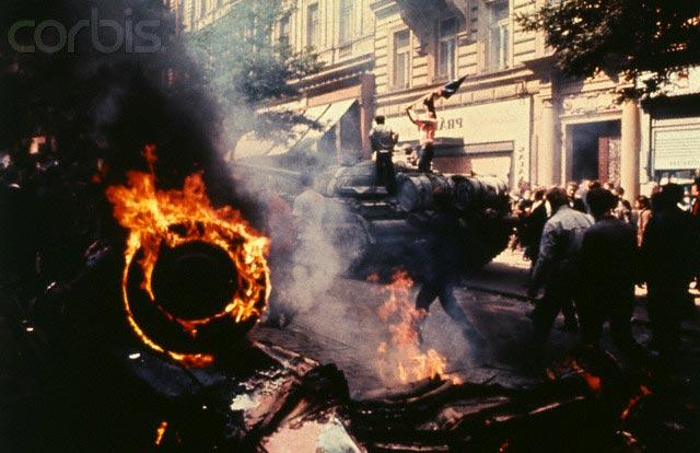 Улицы Праги, 1968 г.