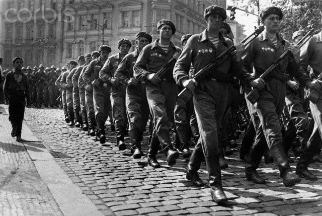 ВДВ на улицах Праги, 1968 г.