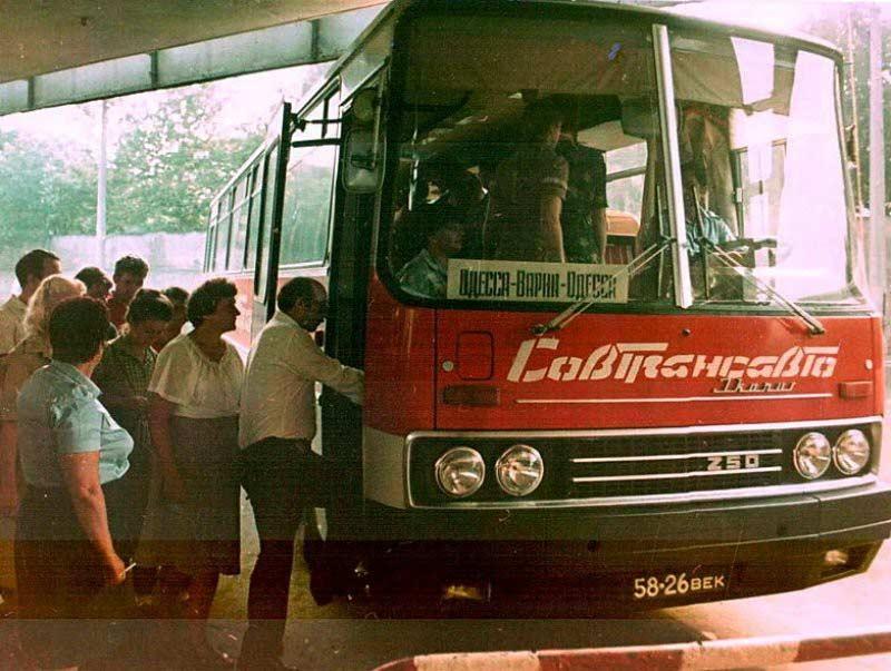 Поведенческие стереотипы советского времени на транспорте