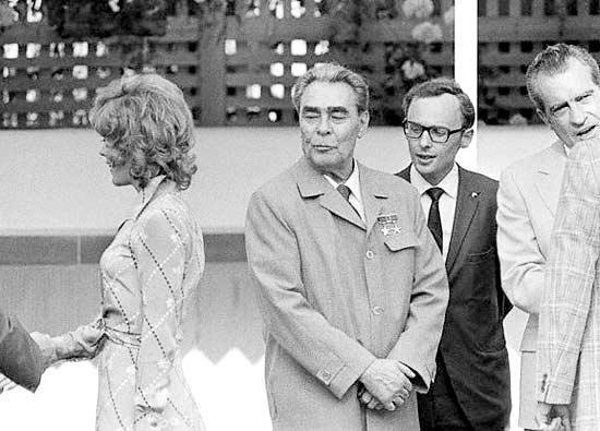 Image result for Leonid Ilich Brezhnev
