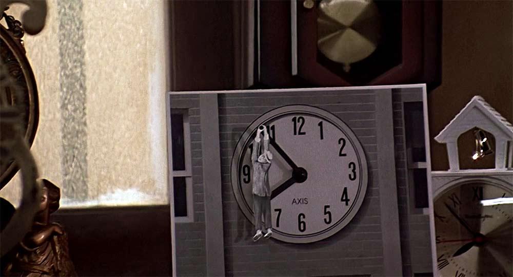 Неизвестные кадры фильма «Назад в будущее»