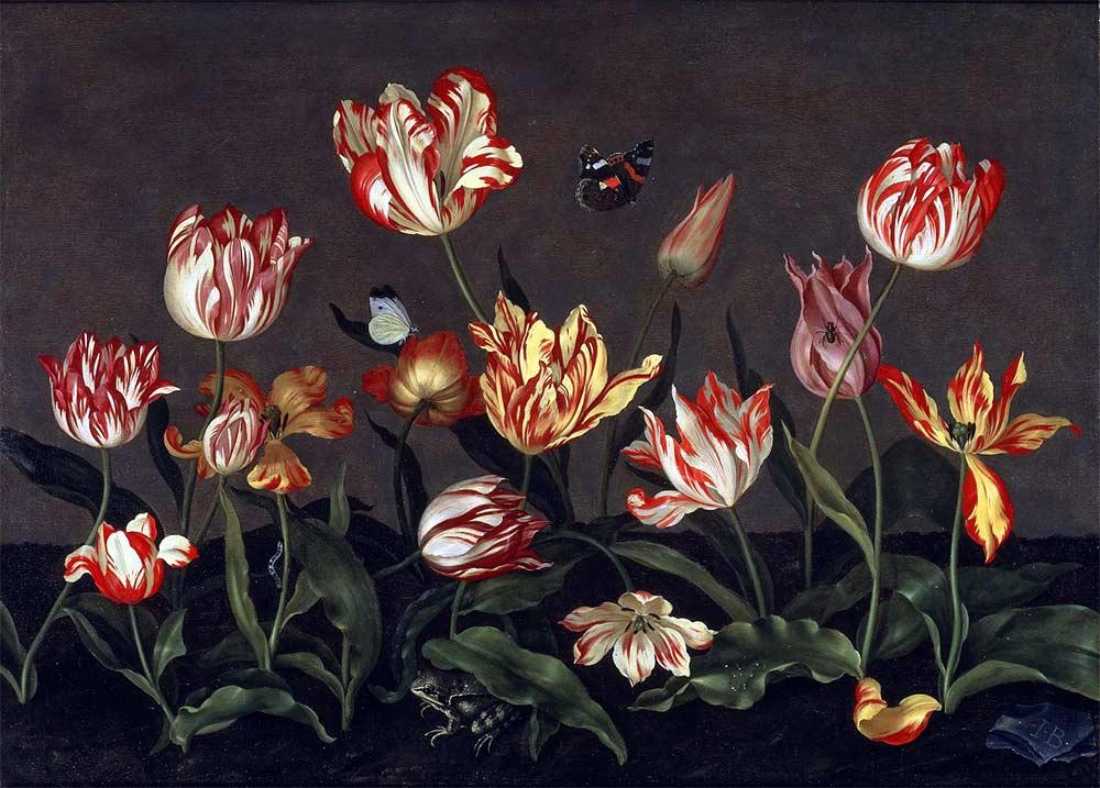 8 марта и тюльпаны