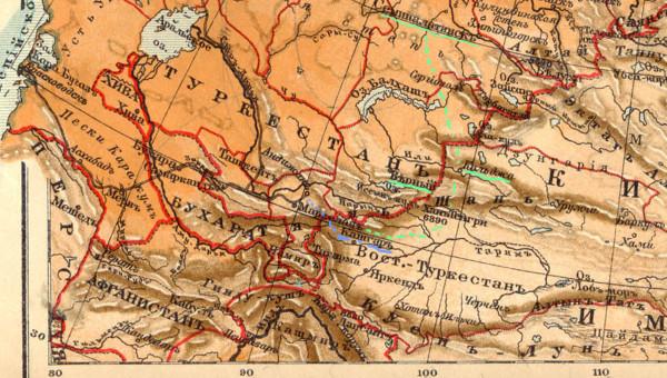 карта 1а