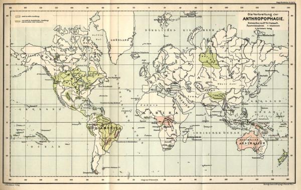 Карта канибализм