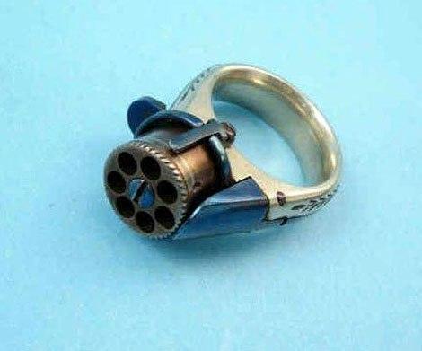 кольцо пистолет 2