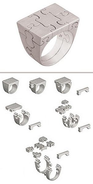 кольцо пазл