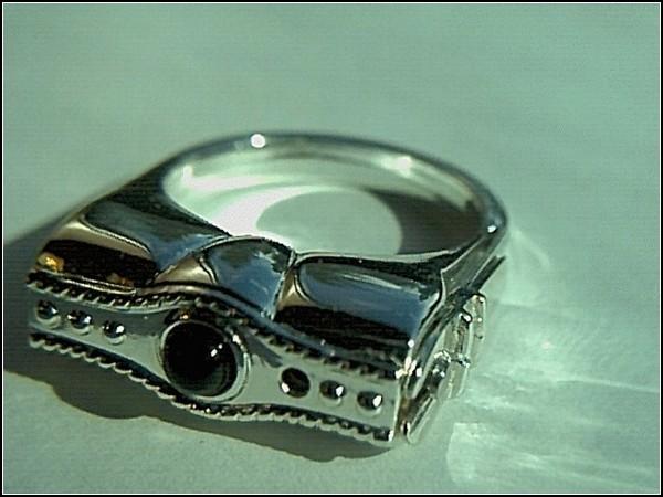 кольцо газовый балончик