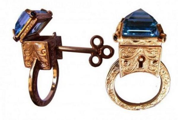 кольцо с секретом