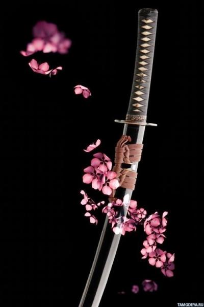 цветы и клинки