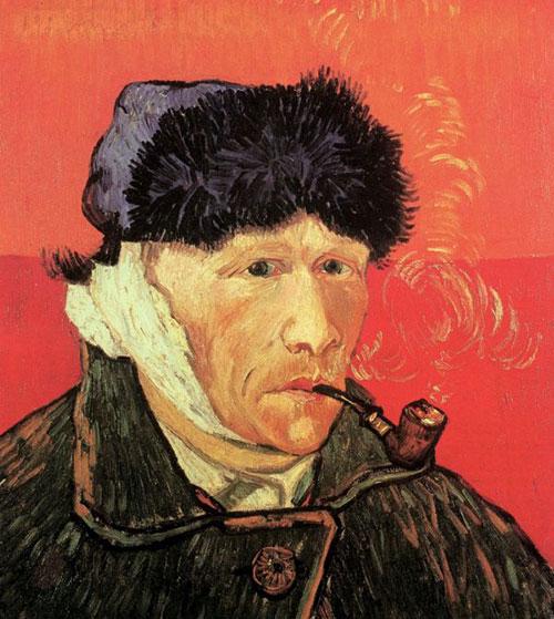 Ван Гог. Автопортрет с отрезанным ухом