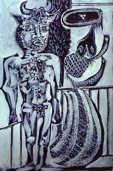Минотавр с женой. 1937 год