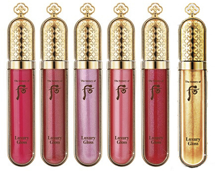 The history of whoo Luxury gloss 4
