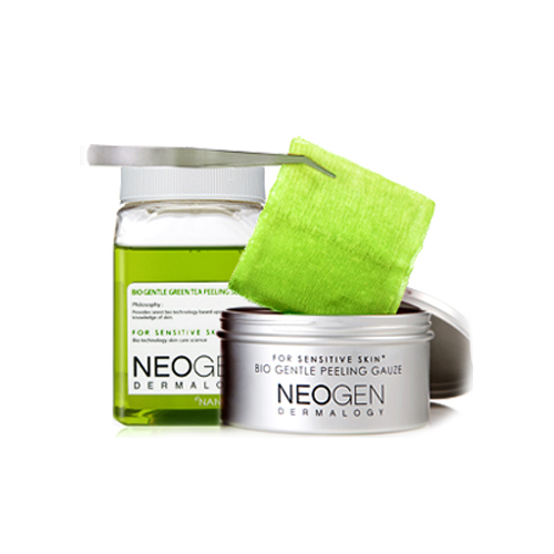 Neogen Bio Gentle Green Tea Peeling Gauze Kit
