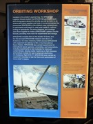 SpaceHab module information board