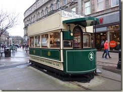 Repurposed horse-drawn tram in Dundee