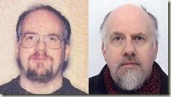 Mugshots a decade apart