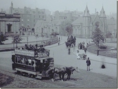 Tram 24 in operation in Dundee
