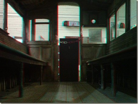 Inside horse-drawn Tram 24 (3D)