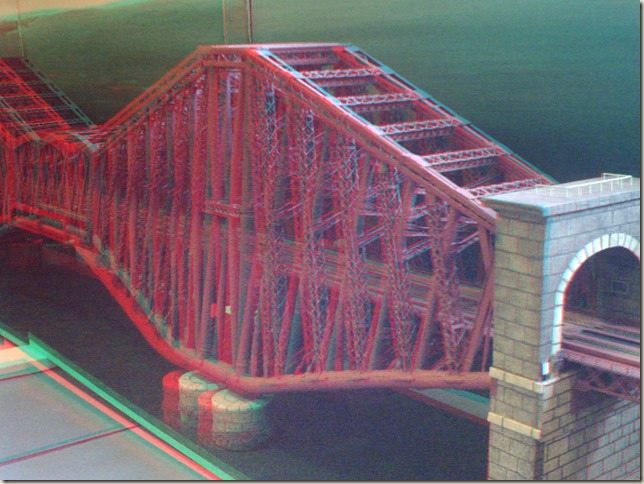 Scale model of the Forth Rail Bridge (3D)