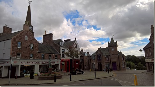The Square in Kirriemuir