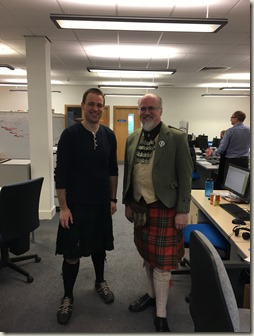 Wearing tartan with Fraser Paterson