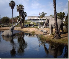 Columbian Mammoth sculpture at La Brea