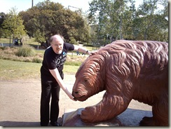 Ground Sloth sculpture, La Brea