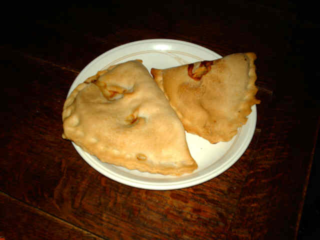 Proper Forfar bridies, from Forfar. A Medium and a small.