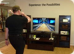 Ten-pin bowling with Kinect for XBox 360