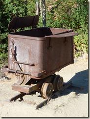 A mining trolley