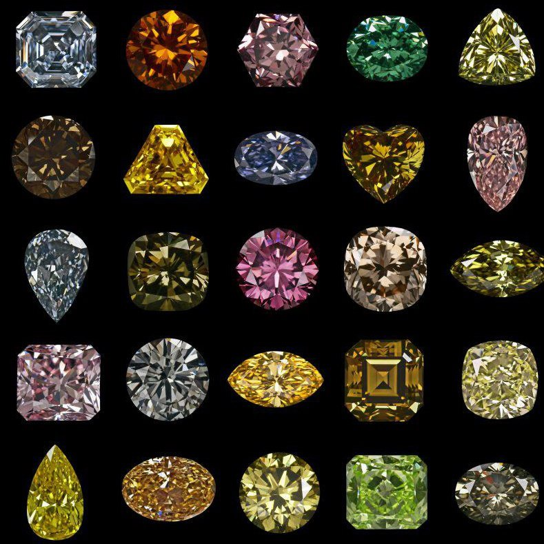 What Colors Are Natural Diamonds