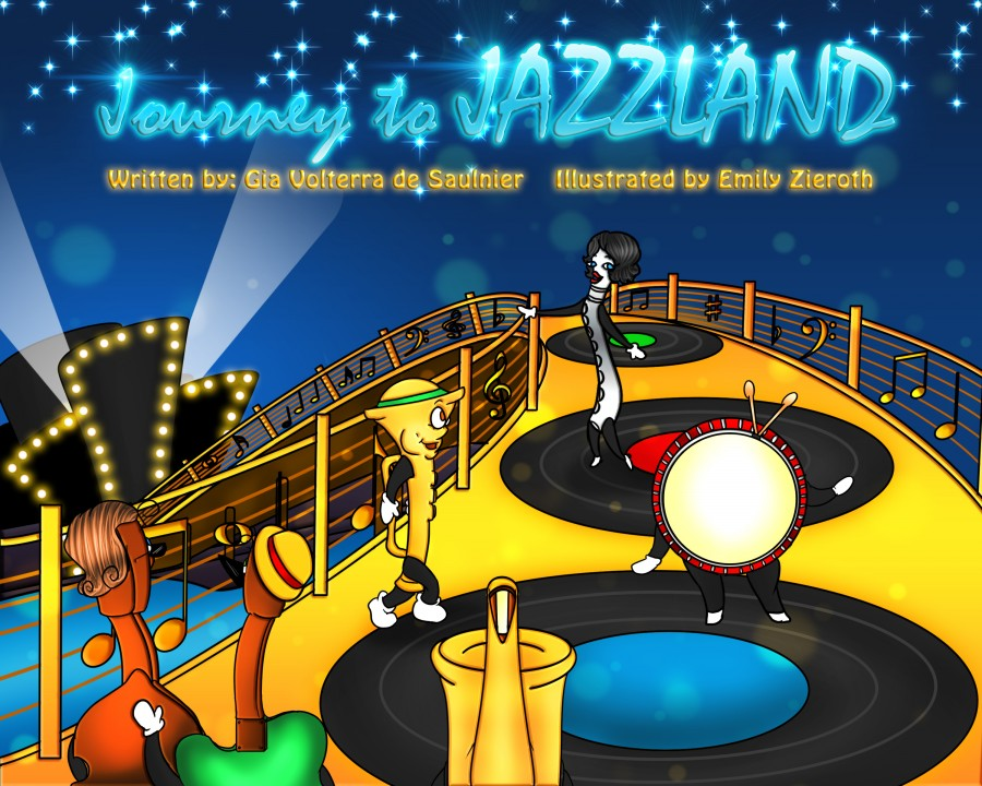Journey to Jazzland book cover!